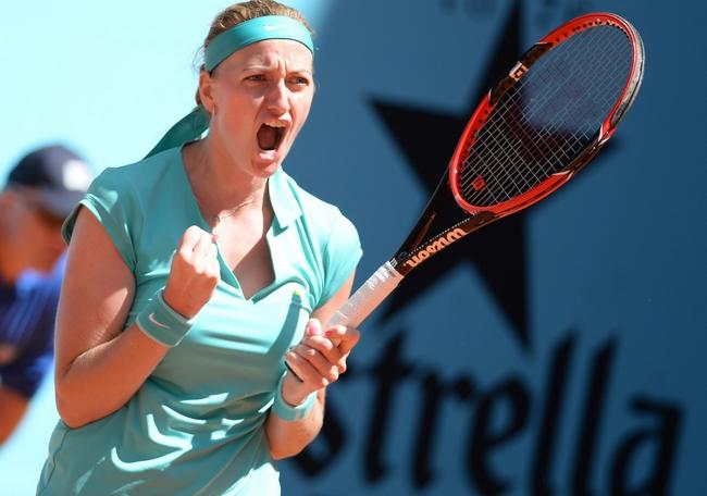 Kvitová vyřadila Svitolinovou a je na US Open stejně jako minulý rok bez ztráty setu v osmifinále