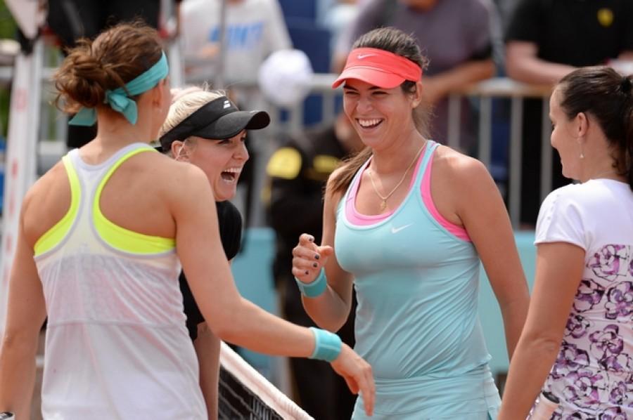 Šafářová s Mattekovou slaví postup do semifinále US Open