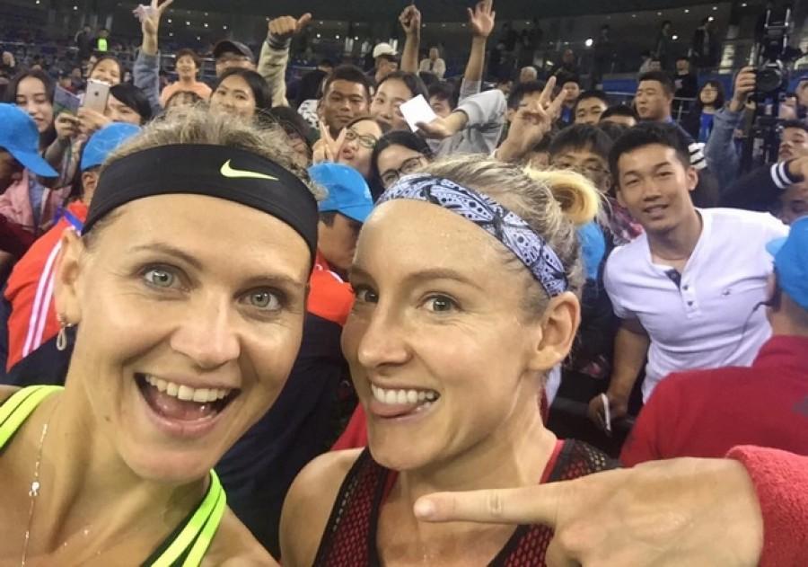 Šafářová s Mattekovou ovládly turnaj ve Wuhanu, čímž si zajistily letenky do Singapuru