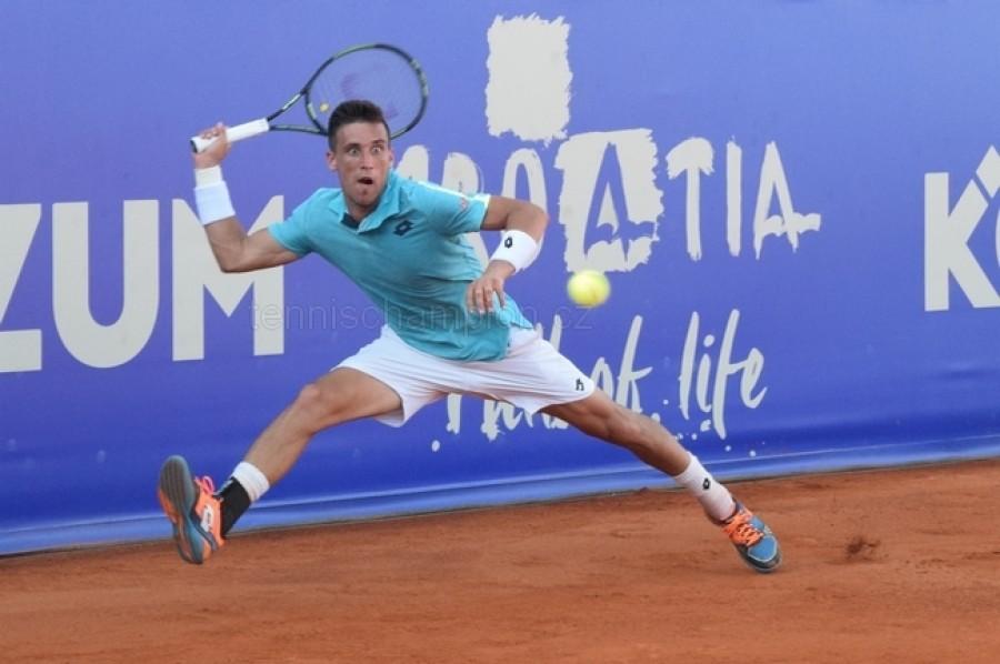 Damir Dzumhur vyřadil z kvalifikace ATP Vienna Adama Pavláska
