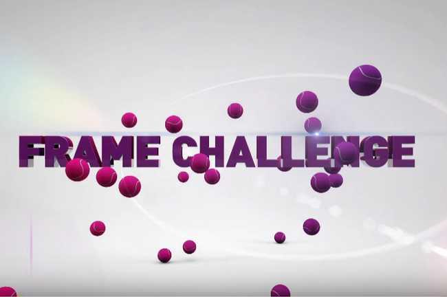 To nejlepší z WTA Frame Challenges