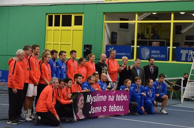 Tenisová extraliga 2016: Triumf slaví opět Prostějov
