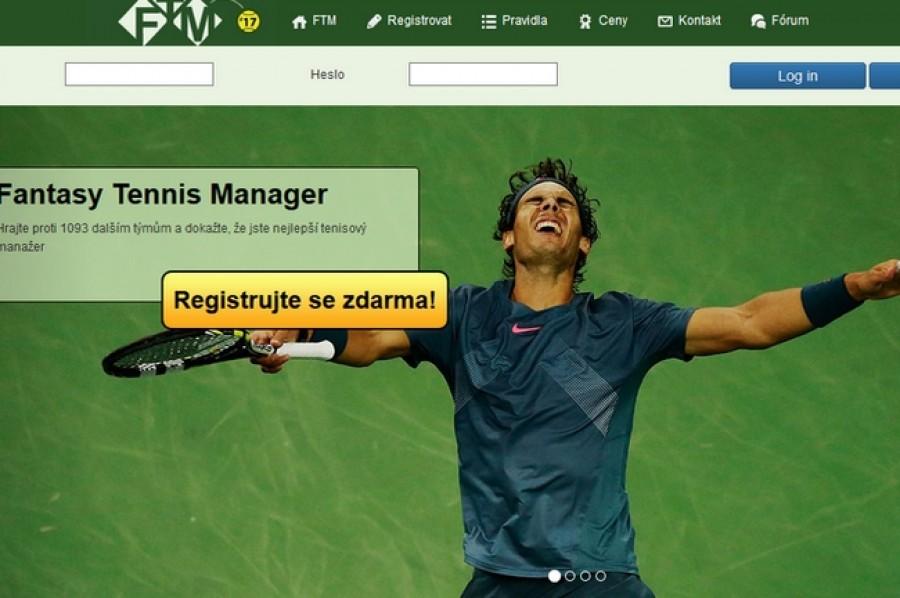 Hrajte Fantasy Tennis Manager a dokažte, že jste nejlepší tenisový manažer