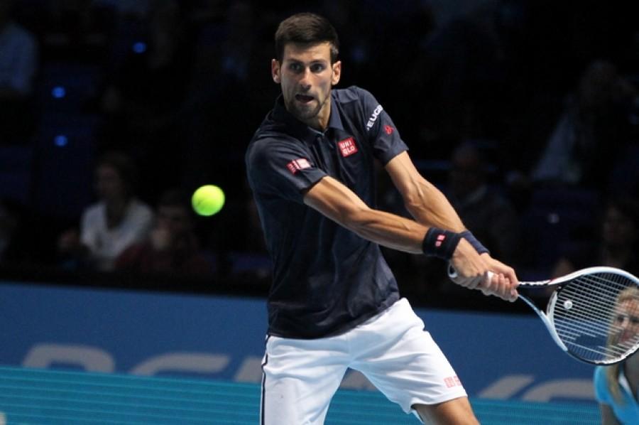 Novak Djokovič bavil diváky a vyzkoušel i hraní tenisu na vozíku