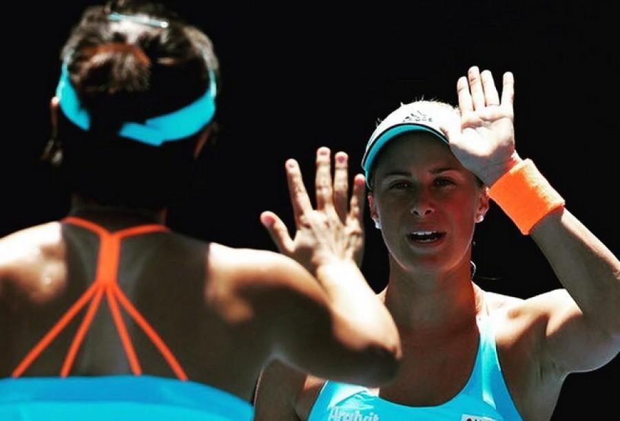 Australian Open: Hlaváčková s Pchengovou nadělily soupeřkám kanára, Strýcová ve čtyřhře překvapivě dohrála