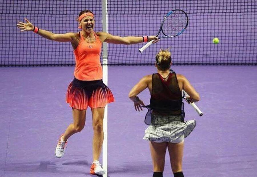 Lucie Šafářová získala na Australian Open titul ve čtyřhře!