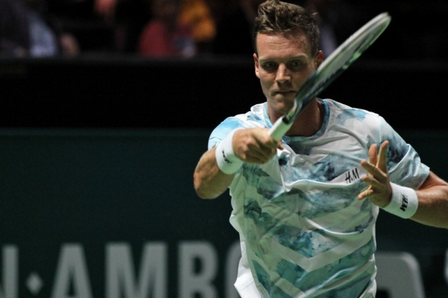 Tomáš Berdych se dostal přes Pouilleho do semifinále Wimbledonu