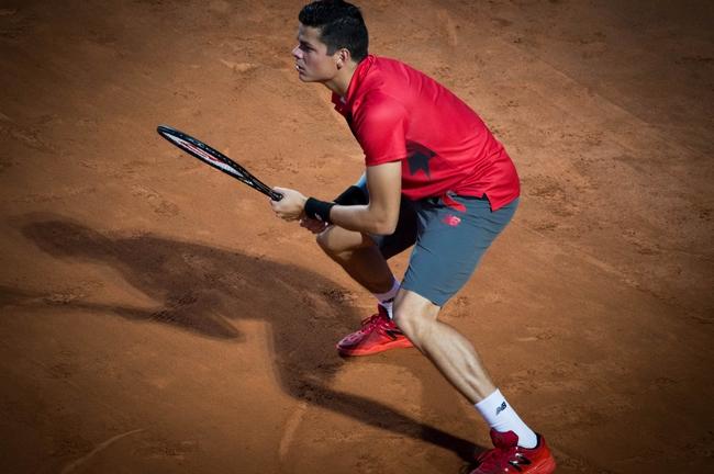 Fantastická výměna mezi Milosem Raonicem a Rogerem Federerem
