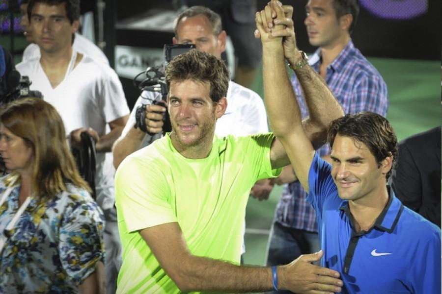 Del Potro: Federer je nejlepším tenistou všech dob a má na to být zase světovou jedničkou