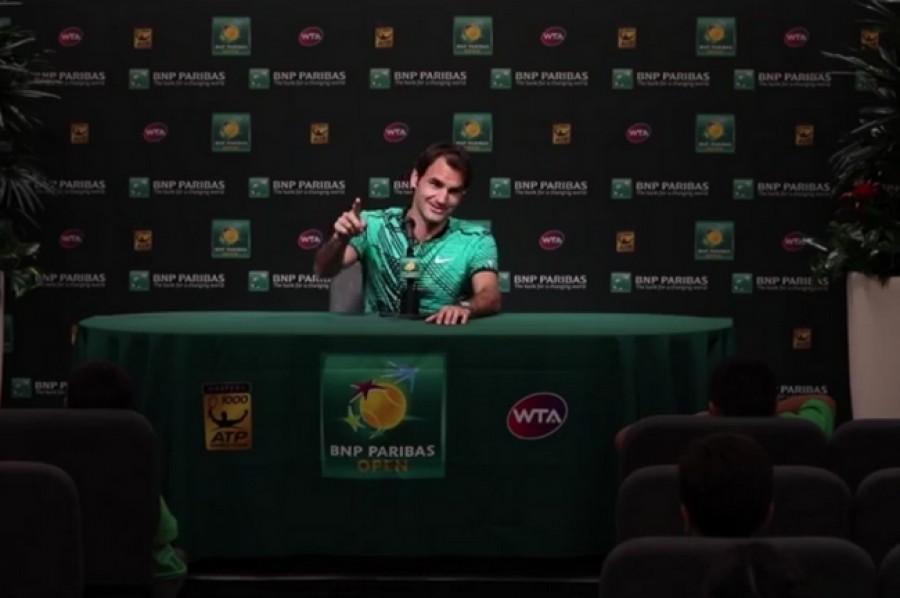 Roger Federer pod těžkou palbou! Zpovídali ho dětští novináři