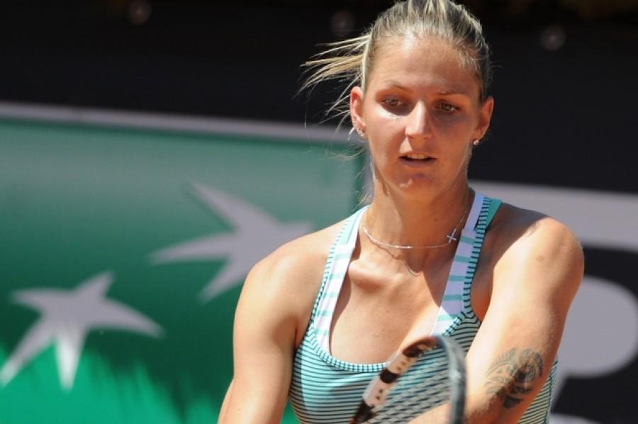 Karolína Plíšková na Roland Garros nezaváhala a jde do druhého kola