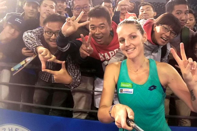 Shenzhen Open: Kristýna Plíšková vyzve Kateřinu Siniakovou o semifinále!