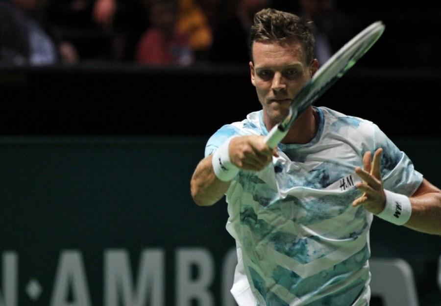 Berdych rozdrtil i Fogniniho! V dalším zápase vyzve Federera