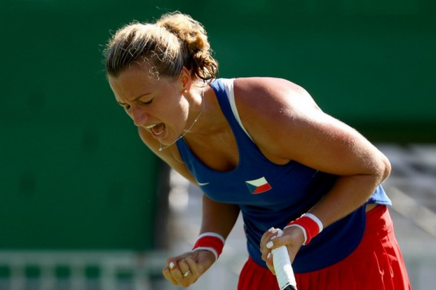 Finále je doma! Petra Kvitová nedala ve Fed Cupu šanci ani Kerberové
