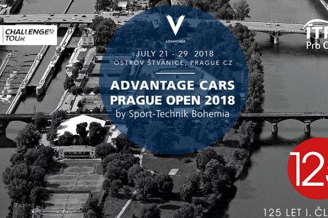 Advantage Cars Prague Open 2018: Tenisové hvězdy opět v Praze!