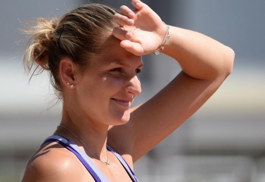 Vítězný bod získala Karolína Plíšková! Černý tým zvítězil 7:4 na body