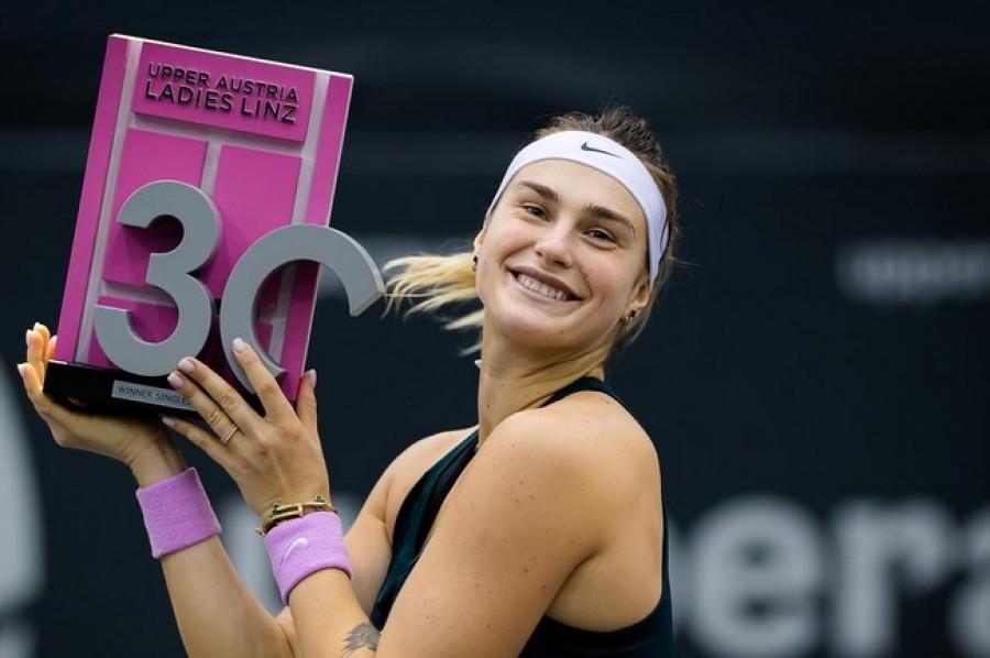 Sabalenková po Ostravě získala titul i na posledním turnaji v Linci